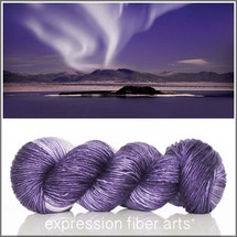 NIGHT AURORAS SUPERWASH MERINO SILK PEARLESCENT WORSTED