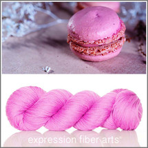 RASPBERRY MACARON - 'SOCKLOVE' Limited Edition SOCK YARN