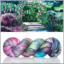 Pre-Order GIVERNY MERINO SILK PEARLESCENT FINGERING - For POP Charity
