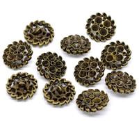 Antique Bronze Shank Design No.3 Buttons 23 mm