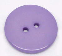 Round Plastic Buttons Two Hole 23mm Purple