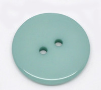 Round Plastic Buttons Two Hole 23mm Teal