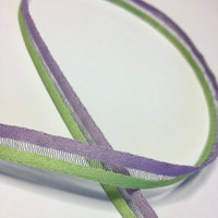 "High Quality Decorative Ribbon ""Fifi"" 9mm wide LAVENDER - MINT"