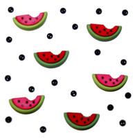 Dress It Up Buttons Watermelon