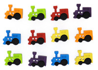 Dress It Up Buttons Sew Cute Trains