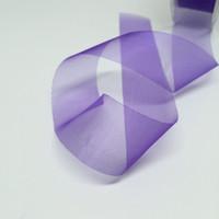 High Quality Purple Organza Ribbon 25mm wide