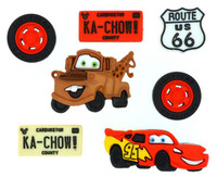 Dress It Up Buttons Disney Collection: Cars