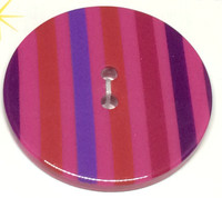 34mm Round Confetti Button -3214