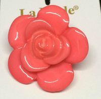 LA Mode 34mm Pink Flower Hook 216
