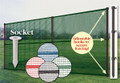 Pointed Smartpole for Portable Outfield Fencing