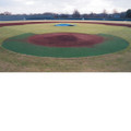 Homeplate Halo Kit W/O Baseline Wings-5mm Padded Backing
