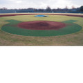 Homeplate Halo Kit With Baseline Wings-Non Padded Backing