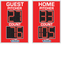 Pitch Count Board Model 8302PC