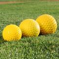 Heater Yellow Dimpled Pitching Machine 11'' Softballs