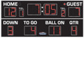 All American Outdoor Football Scoreboard Model 8418