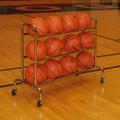 3-Tier Wide Body Basketball Cart (12 Ball Capacity)