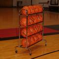 4-Tier Wide Body Basketball Cart (16 Ball Capacity)