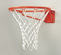 Bison BA27 Standard Front Mount Fixed Basketball Goal