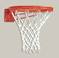 Bison BA37/BA37N Double Rim Fixed Front Mount Basketball Goal
