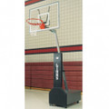 Bison Clubcourt™ Portable Adjustable Basketball System-Acrylic