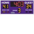 Indoor Basketball, Volleyball & Wrestling Scoreboard Model 8206