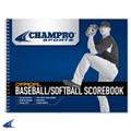 Champro Baseball / Softball Scorebook