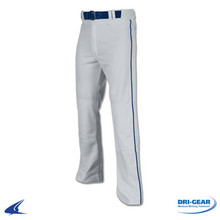 Grey Pant w/ Navy Piping