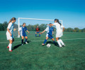 Bison International Soccer Goal (4'' dia. round)-8'Hx24'Wx4'Dx10
