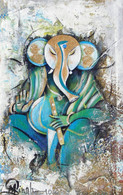 Ganesha is blessing