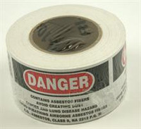 Danger Asbestos Label/500