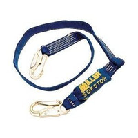 Kevlar 6' Lanyard w/SofStop and 2 Locking Snap Hooks- 913K/6FTBL