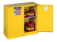 Sure-Grip® EX 30 Gal. Flammable Safety Cabinet - Self-Closing Doors
