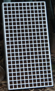 Aquaponics Floating Seedling Tray (Tray Only) - 3/4""