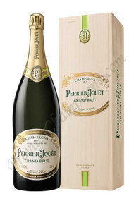 Perrier-Jouet Grand Brut in Wood Box (3L Jeroboam)