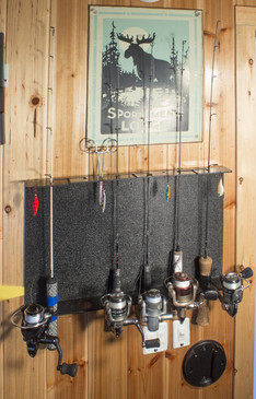 Rod Rack on wall