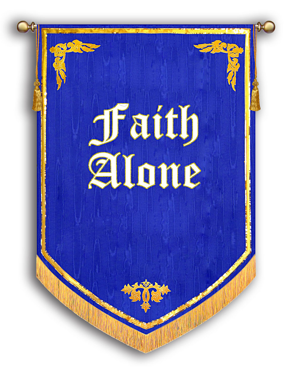 Faith Alone Banner - Reformation 500