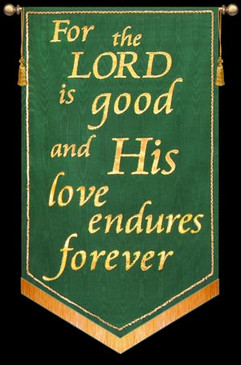 For the Lord is good - Green