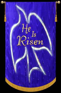 He is Risen Dove