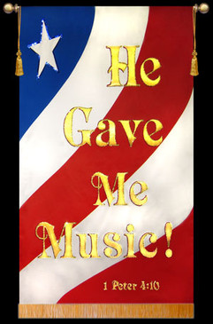He Gave Me Music - Patriotic