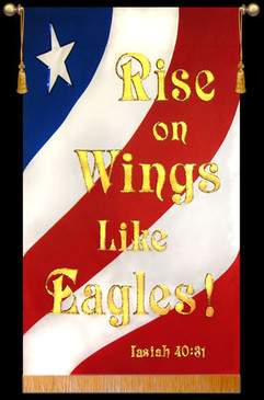 Rise on Wings Like Eagles - Patriotic
