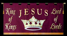 Jesus King of Kings Lord of Lords Horizontal