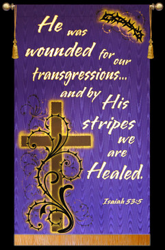 He was wounded for our transgressions - Isaiah 53:5