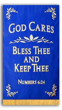 God Cares Chapel Banner