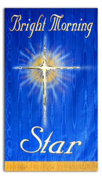Bright Morning Star Processional Banner
