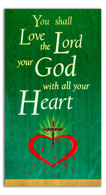 You shall love the Lord your God - Matt. 22:37 Bible Verse