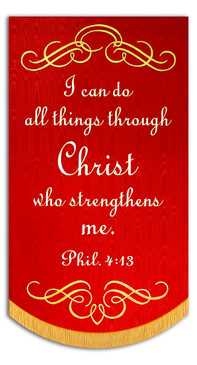 I can do all things through Christ who strengthens me - Phil-4:13