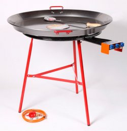 Garcima Large Burner with Reinforced Stand