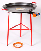 Garcima Suquer 600mm Paella Burner with 70cm Carbon Steel Pan