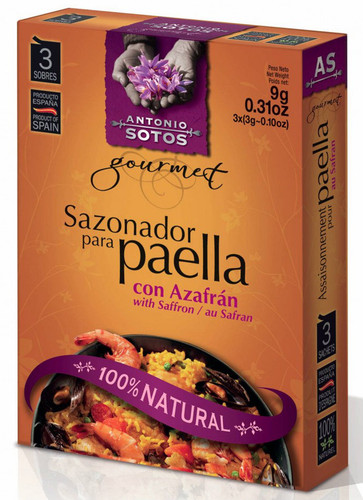 Antonio Sotos Authentic Paella Seasoning Mix