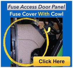 john deere 5420 wiring diagram fuse access door panel    john       deere    55 60 series tractor  fuse access door panel    john       deere    55 60 series tractor